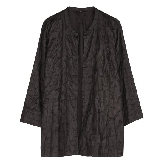 Silk Tussah Bartack Jacket