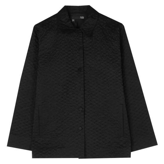 Quilted Cotton Nylon Jacket
