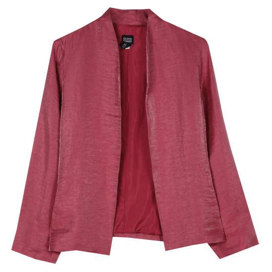Iridescent Linen Jacket