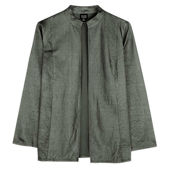 Quilted Silk Tussah Jacket