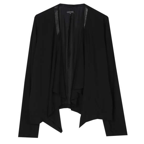 Silk Georgette Crepe Jacket
