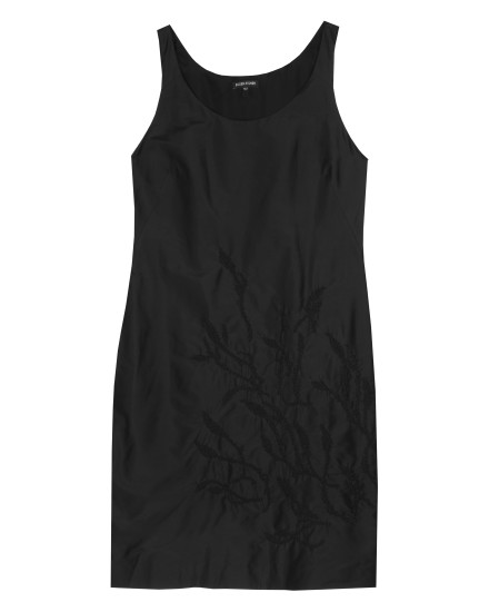 Kala Embroidered Taffeta Dress