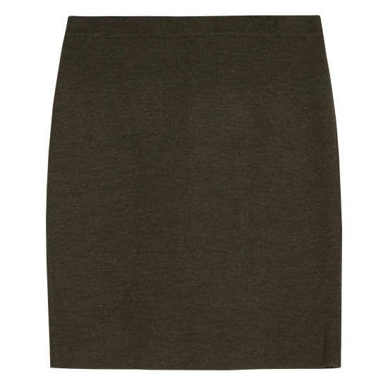 Merino Wool Rib Skirt