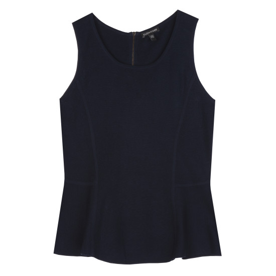 Lightweight Silk Cotton Interlock Tank