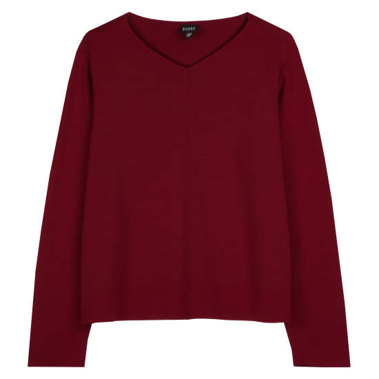 Viscose Wool Knit Pullover