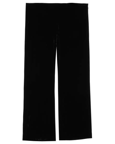 Washable Stretch Velvet Pant