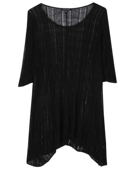 Variegated Silk Linen Pullover