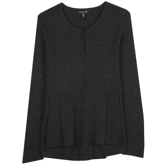 Fine Merino Interlock Knit Jacket