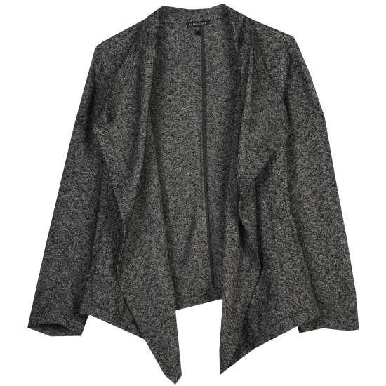 Distorted Cotton Herringbone Jacket