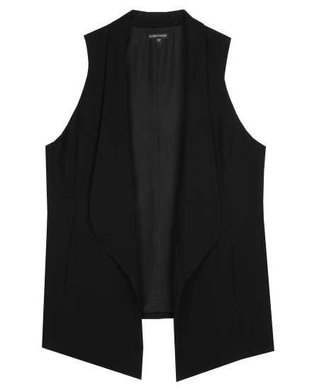 Silk Georgette Crepe Vest