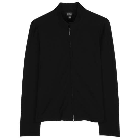Washable Stretch Crepe Jacket