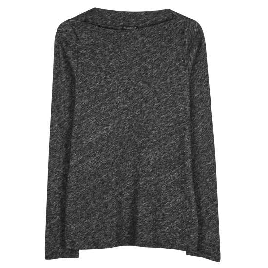 Organic Cotton & Wool Bias Twist Pullover