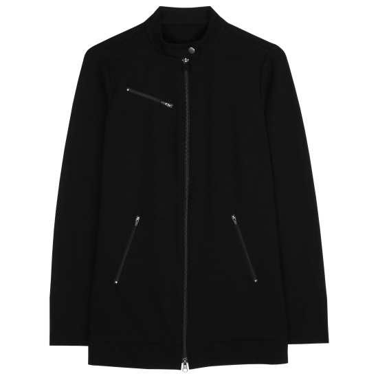 Organic Cotton Stretch Jersey Jacket