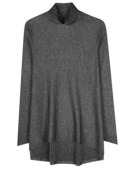 Sleek Tencel Merino Knit Pullover