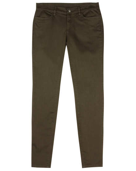 Lightweight Organic Cotton Stretch Pant