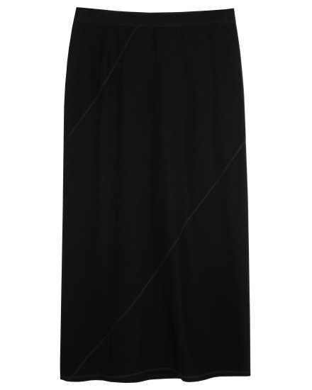 Stretch French Terry Skirt