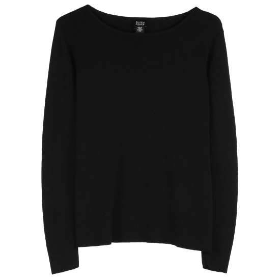 Washable Wool Crepe Pullover