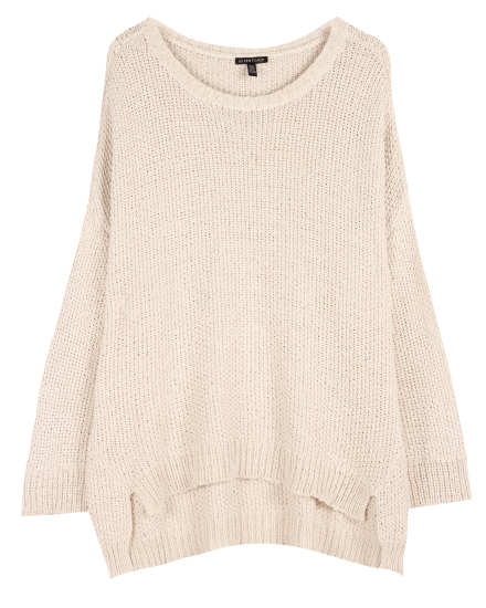 Organic Cotton Tape Texture Pullover