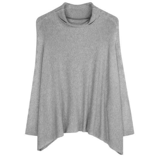 Cozy Viscose Stretch Knit Pullover