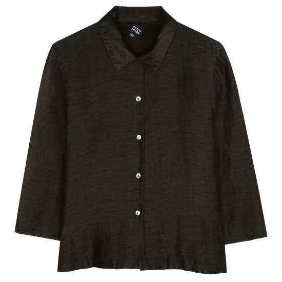 Silk Linen Satin Jacket