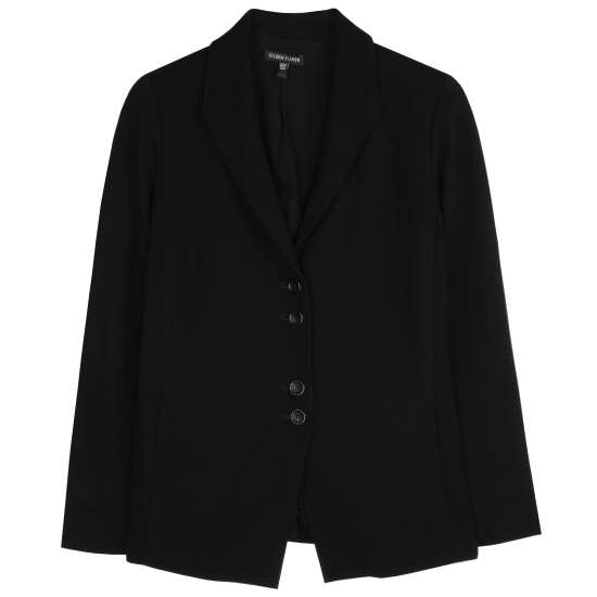 Viscose Stretch Ponte Jacket