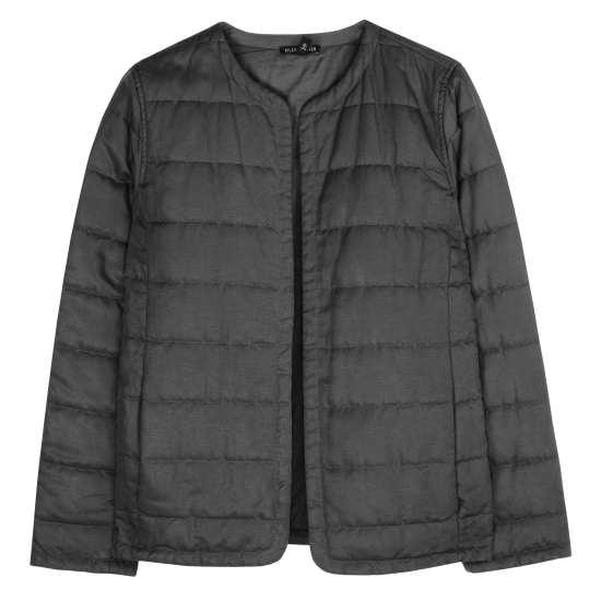 Quilted Tencel Linen Jacket