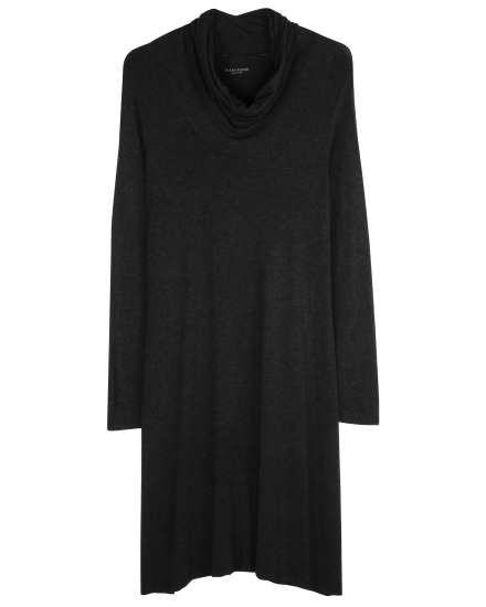 Stretch Viscose Jersey Mélange Dress