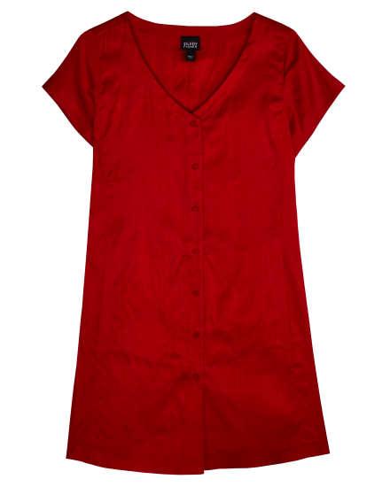 Yarn-Dyed Silk Dupioni Blouse