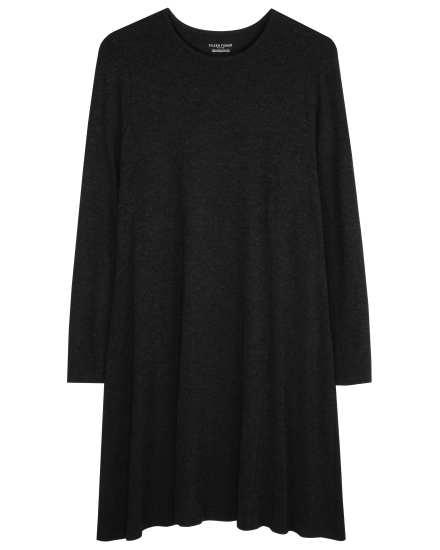 Stretch Viscose Jersey Mélange Dress