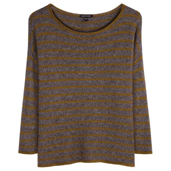 Supersoft Yak & Merino Stripe Pullover