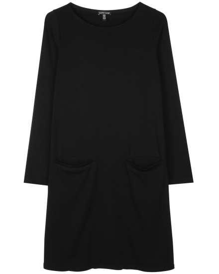 Stretch Tencel Fleece Dress