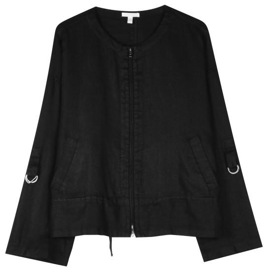 Heavy Organic Linen Jacket