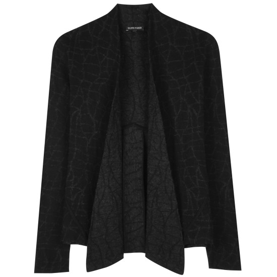 Merino Cotton Mosaic Jacket