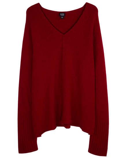 Wool Nylon Boucle Pullover