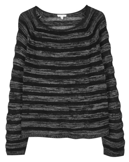 Organic Cotton Sheer Stripe Pullover