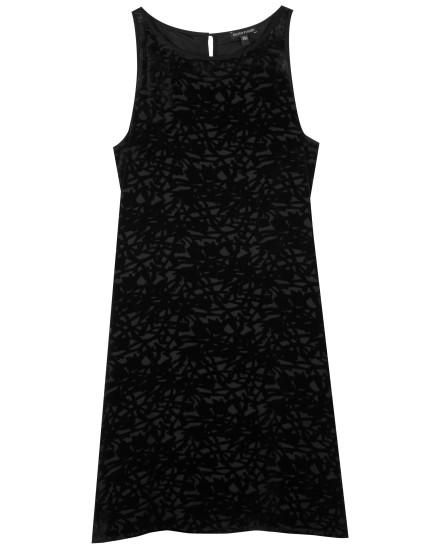 Velvet Vines Burnout Dress