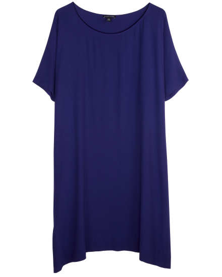 Silk Georgette Crepe Dress