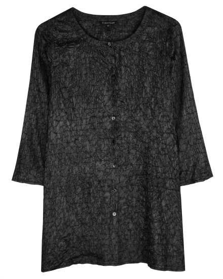 Scrumple Silk Tussah Pullover