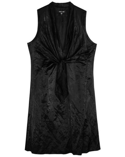Steel Satin Dress