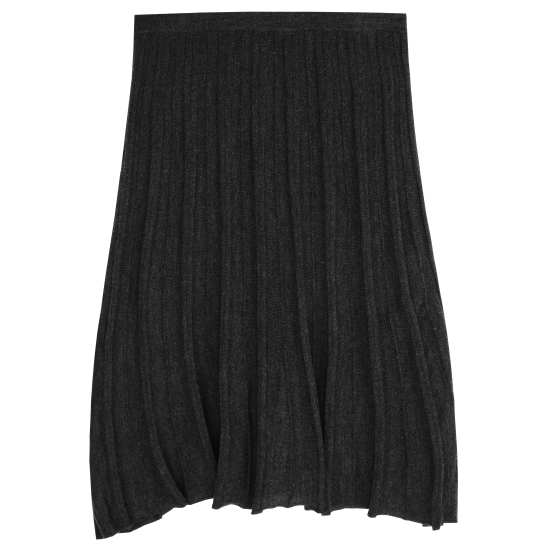 Merino Pleat Skirt