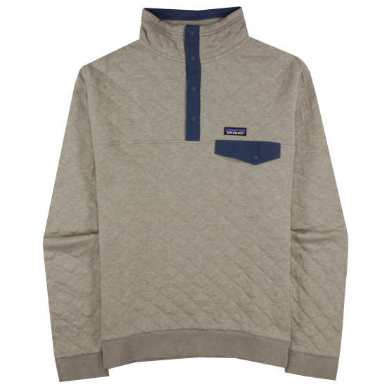 M's Organic Cotton Quilt Snap-T® Pullover
