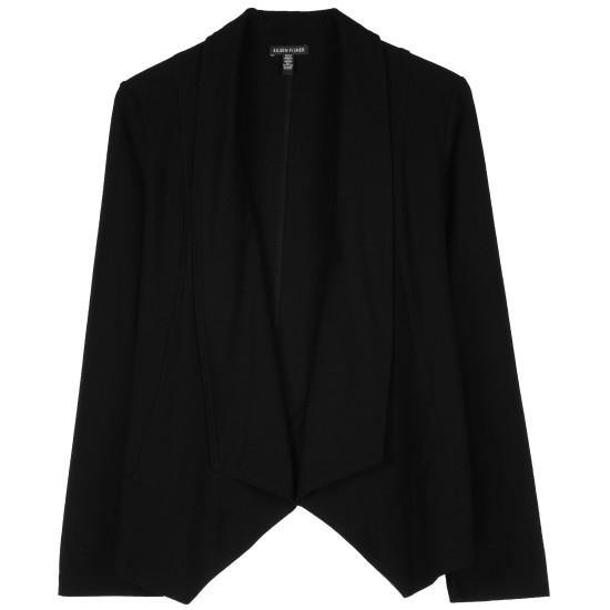Lightweight Washable Stretch Crepe Jacket