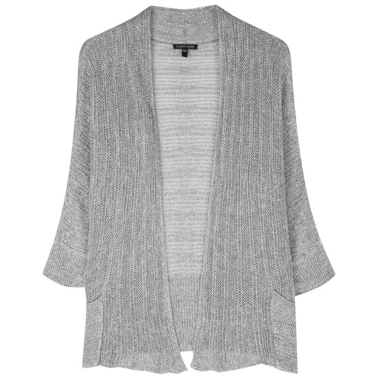 Variegated Linen Silk Cardigan