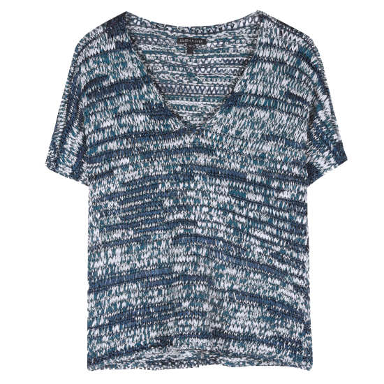 Brushstroke Cotton Tape Pullover