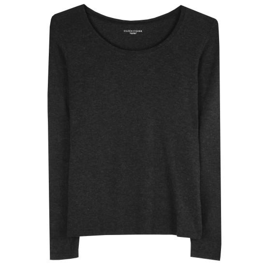 Stretch Viscose Jersey Mélange Tee