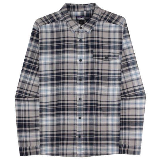 M's Long-Sleeved Lightweight Fjord Flannel Shirt