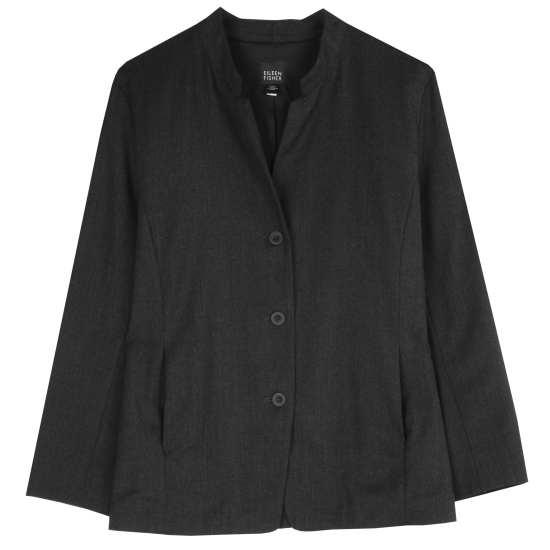 Stretch Flannel Mélange Jacket