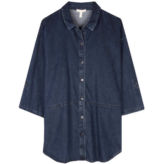 Tencel Organic Cotton Denim Blouse