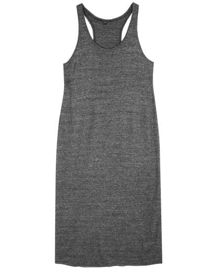 Cozy Heathered Jersey Dress