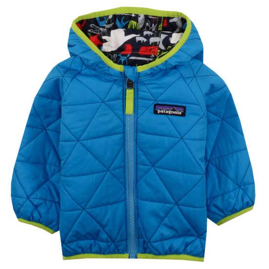 Baby Reversible Puff-Ball Jacket